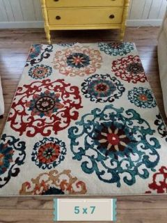 New Better Homes and Gardens 5x7 Area Rug
