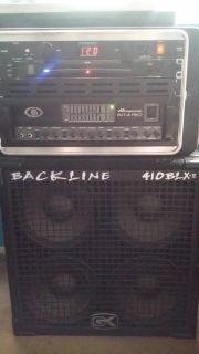 Bass Rig, SVT 4 PRO, GK 410, RACK TUNER AND FURMAN POWER CONDITION