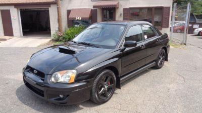 2004 Subaru Impreza WRX (Black)
