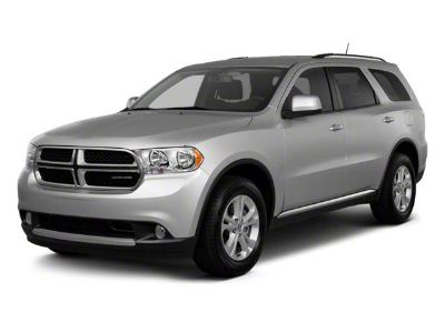 2012 Dodge Durango SXT (Bright Silver Metallic)