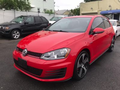 2016 Volkswagen Golf Gti 2dr HB Man S (Tornado Red)
