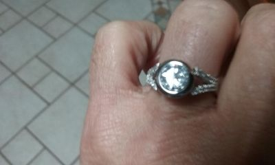 Size 7 sterling silver ring new