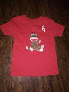 Custom Design Name Shirt Monkey with Letter A ; Can Make Different kinds Upon Request