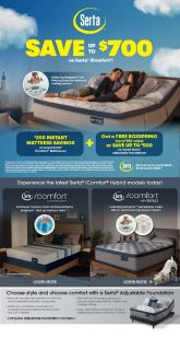 Cloud 9 Mattress Serta iComfort Sale
