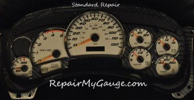 Purchase Gmc Silverado Envoy Trailblazer Instrument Cluster Gauge Repair motorcycle in Glendale, Arizona, United States, for US $125.00