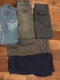 Lot of boys size 14 pants and shorts