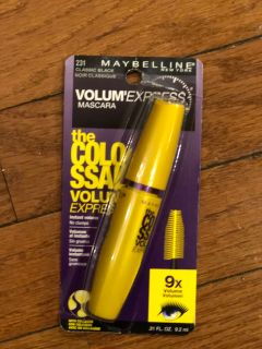 Maybelline volume was express The Colossal mascara