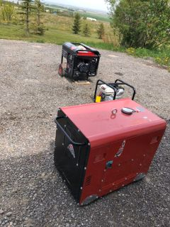 Heavy Duty Power System Generators and Gas Pump