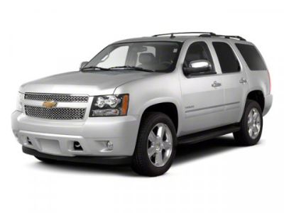 2012 Chevrolet Tahoe LTZ (Black)