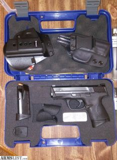 For Sale/Trade: M&P 40c with eight mags, two holsters and ammo for trade