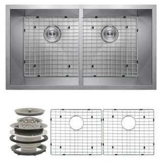 """AKDY All-in-One Undermount Stainless Steel 32"""" x 18"""" x 9"""" - New!"""