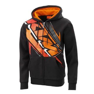 Find KTM BIG MX ZIP HOODIE BLACK S, 2XL motorcycle in Lanesboro, Massachusetts, United States, for US $69.99