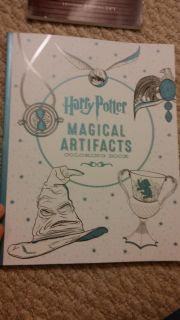 Harry Potter Magical Artifacts adult coloring book