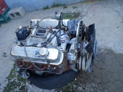 1972 PONTIAC 455 ENGINE MOTOR GTO GP LEMANS TEMPEST CATALINA 6X HEADS 485428 YH  I011