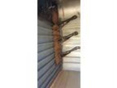 2 Horse w Tack Room, Feed Bunks & Water Tanks remodeled stock trailer