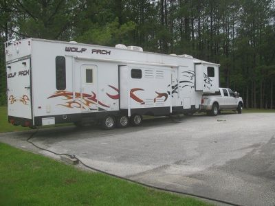 2008 Forest River Wolf Pack 396WP
