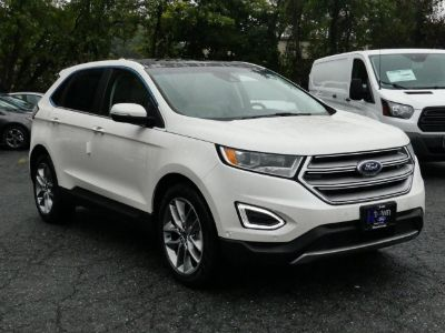2018 Ford Edge Titanium (White Platinum Metallic Tri-Coat)