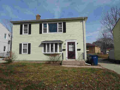3616 S 22nd St Milwaukee Four BR, Great opportunity for investor