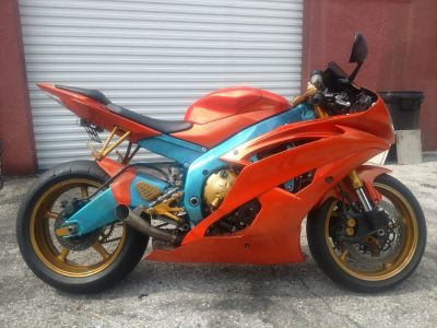 2008 Yamaha R-6 (Orange)