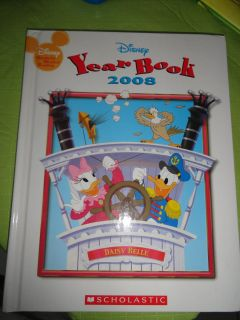 THICK DISNEY'S 2008 HARDCOVER YEARBOOK
