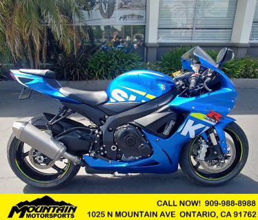 2015 Suzuki GSX-R600 Supersport Ontario, CA