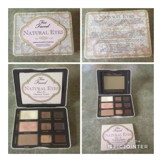 Too Faced Natural Eyes Palette Tin
