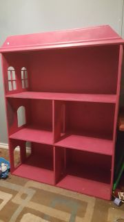 Doll wood House 4ft high, 3ft length, 1ft 5in width