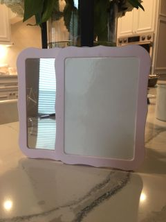 Magnetic dry erase board and mirror