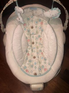 Baby starts baby bouncer
