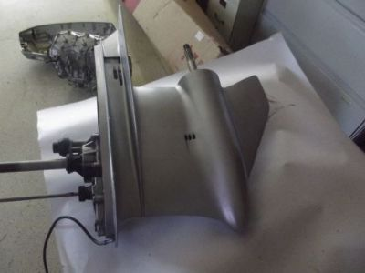 "Buy 150-225 HP OEM Johnson Evinrude V6 Outboard Motor 20"" Shaft Lower Unit 1991-2005 motorcycle in Angola, Indiana, United States, for US $600.00"