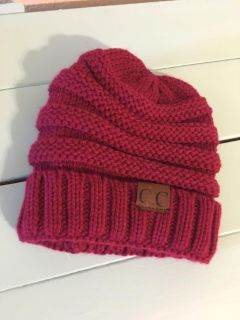 Knit Winter Hat. NEW. $2. Quick pick up behind YMCA