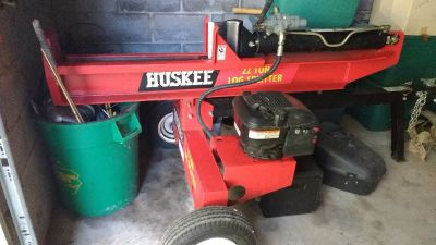 log splitter 22 ton huskee horizontal/vertical