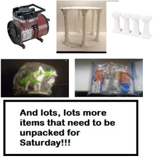 Cake/Party Supplies & Yard Sale