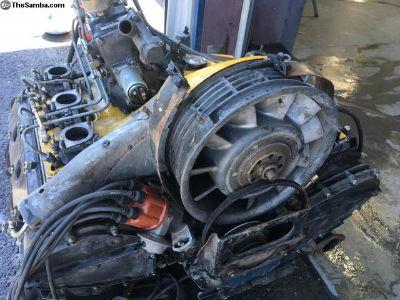 Porsche 2.4 mfi engine