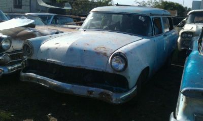 Sell 1955 Ford 2 DOOR WAGON fairlane Wagon Bumper Fender Hood Trunk Trim 1956 55 56 motorcycle in Van Nuys, California, US, for US $100.00