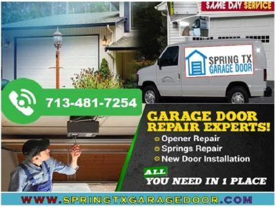 Garage Door Spring Repair 713-481-7254 | Spring, TX