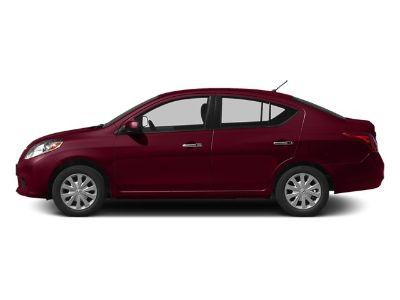 2014 Nissan Versa 1.6 S (Red Brick)