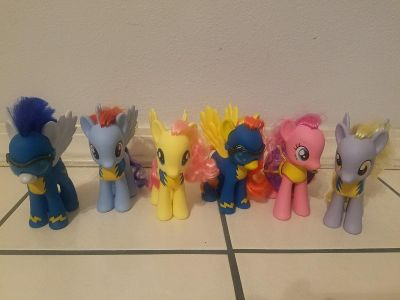 My Little Pony Wonderbolts collection