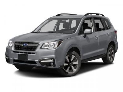 2017 Subaru Forester 2.5i Limited (Crystal Black Silica)