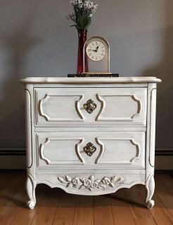 Beautiful Upcycled End Table/Night Stand
