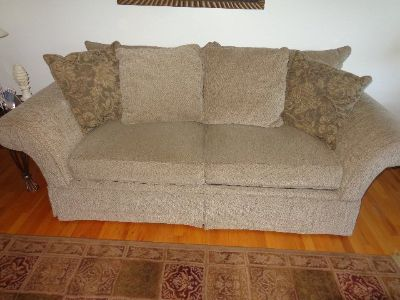 Bassett Couch , From smoke and pet free home.
