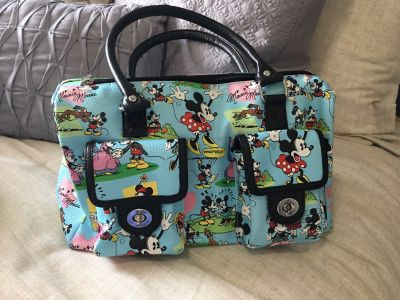 Mickey and Minnie Mouse Hans bag