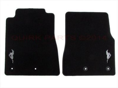 Buy 2013-2014 Ford Mustang Floor Mats Carpeted Front Black WithPony Logo OEM NEW motorcycle in Braintree, Massachusetts, United States, for US $89.75