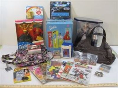 More Barbie, Star Wars, Jewelry, Comics and more