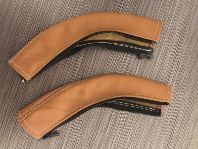 Leather Handle Bar Covers for City Select by Baby Jogger Stroller