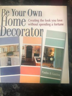Be your own home decorator book