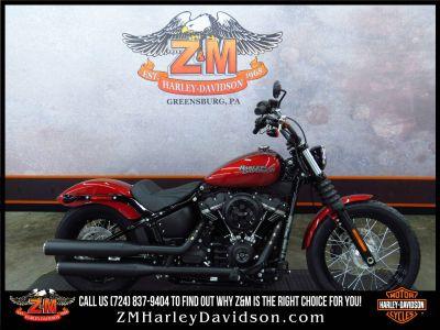 2018 Harley-Davidson Street Bob 107 Cruiser Motorcycles Greensburg, PA