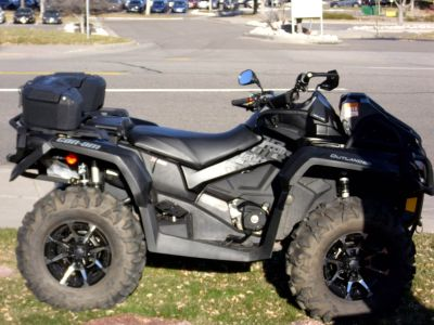 2017 Can-Am Outlander X mr 1000R Utility ATVs Centennial, CO