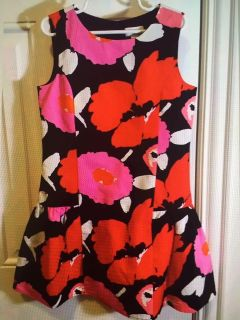 The Children Place Holiday Floral Dress Sz 6x/7