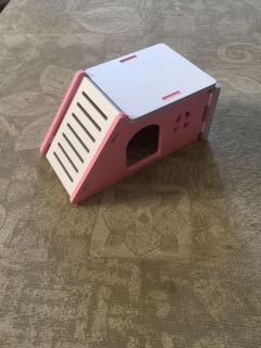 Hamster house pink
